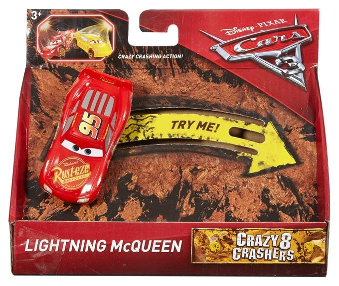 Mattel Cars 3 Crazy McQueen