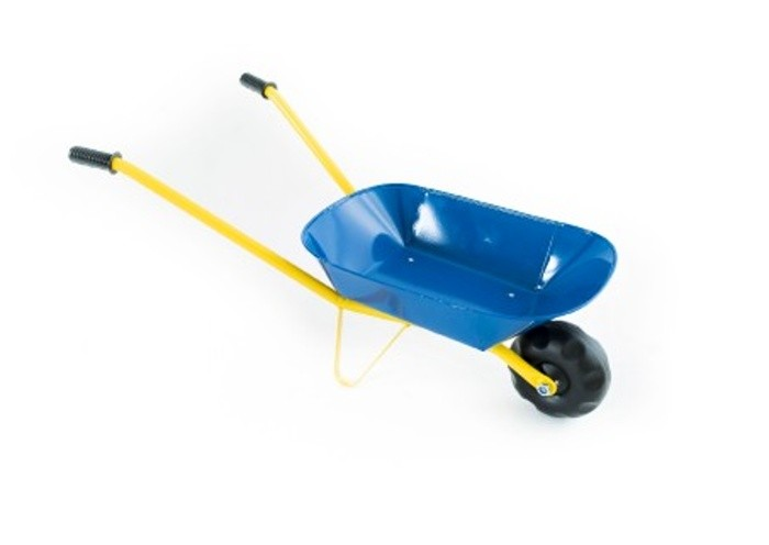Dětské plechové kolečko 75 cm, Modré