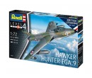 Revell ModelKit letadlo, 100 Years RAF Hawker Hunter FGA.9