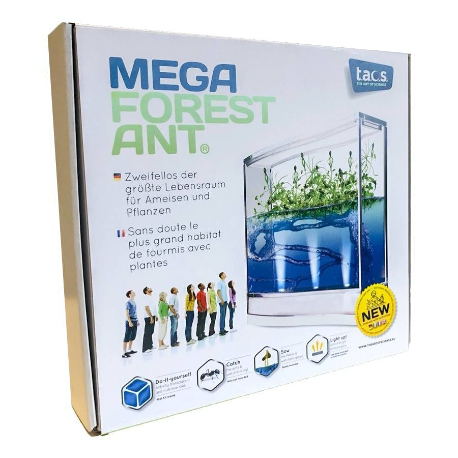 Mega Forest Ant Led Antquarium, Mravenčí akvárium