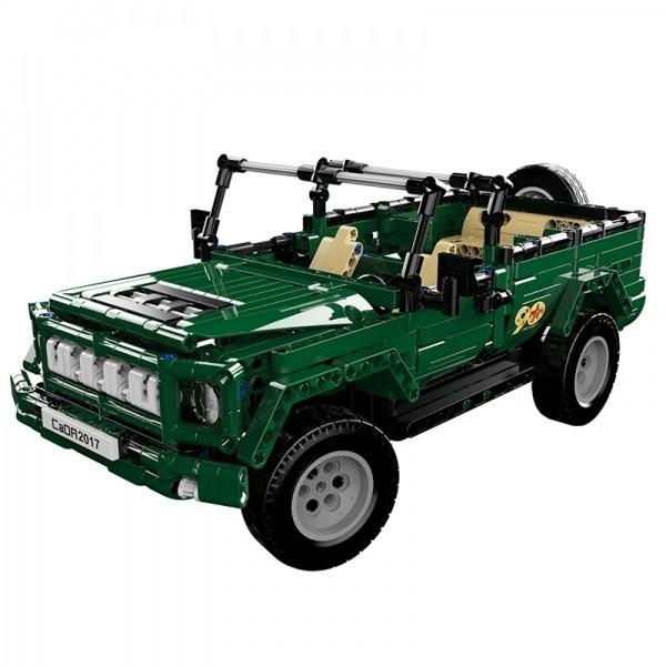 Fleg Vojenské auto na dálkové ovládání