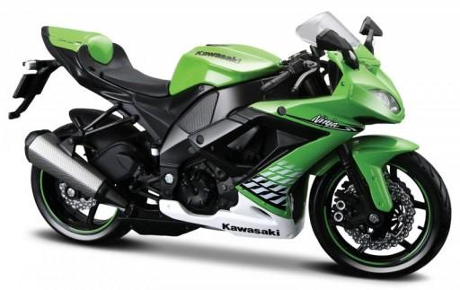 Maisto Kawasaki Ninja ZX-10R, Zelená 1:18
