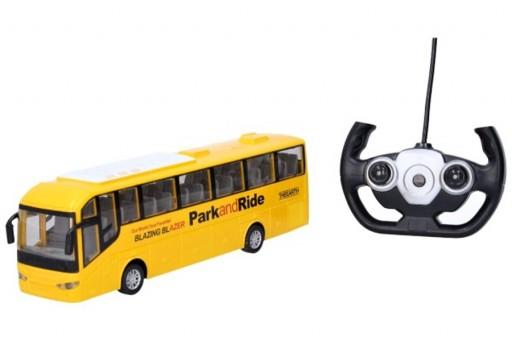 RC autobus na dálkové ovládání, 28cm