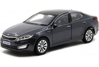 Welly KIA K5 Optima, Šedá 1:34-39