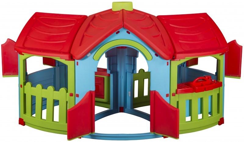 Marian Plast dětský plastový domeček Triangle dvě místnosti