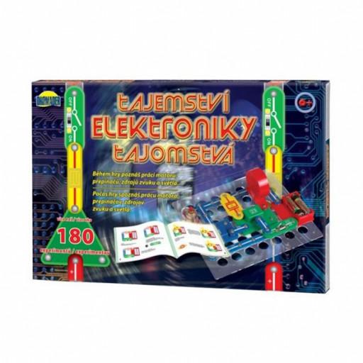 Dromader Elektronická stavebnice Tajemství elektroniky 180 experimentů