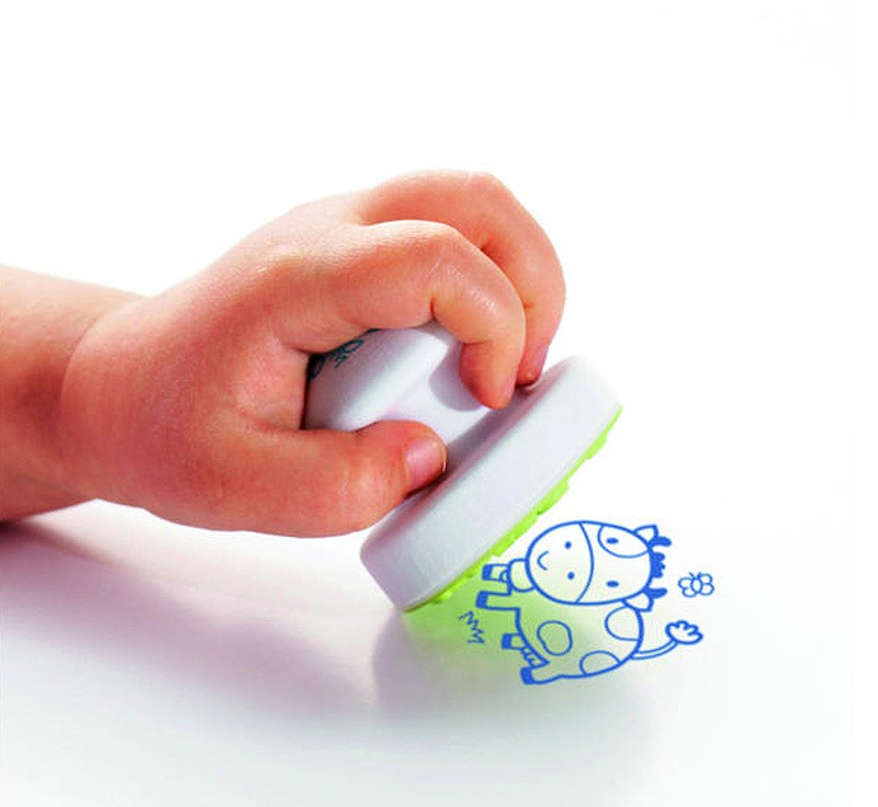 Aladine dětské Baby razítka Stroje