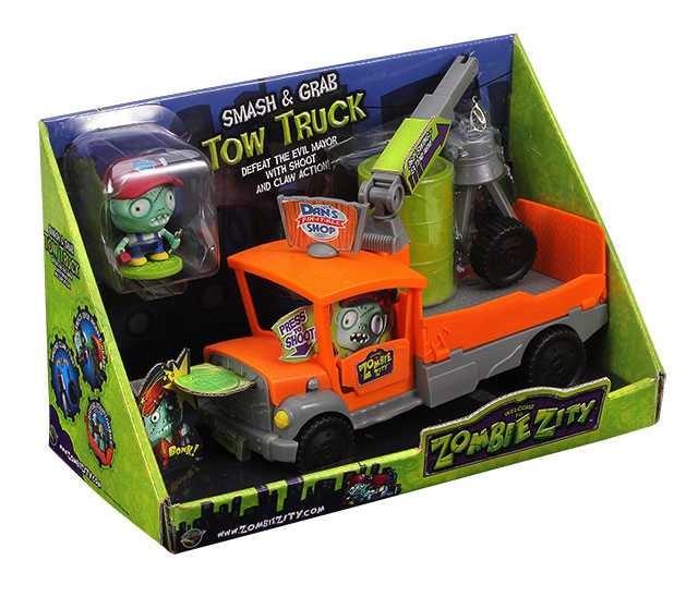 Zombie Zity Tow Truck, Nákladní auto