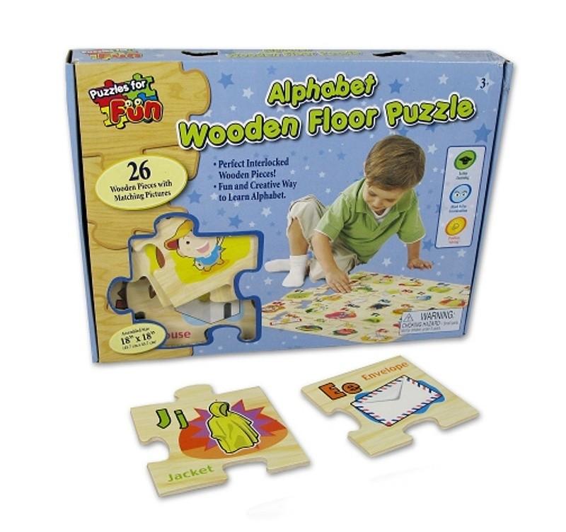 Dětské puzzle číslice a písmena, 26 ks
