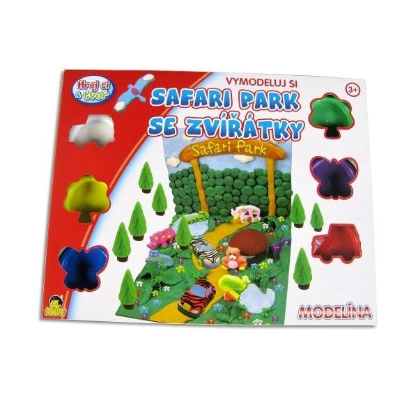 Modelína safari park
