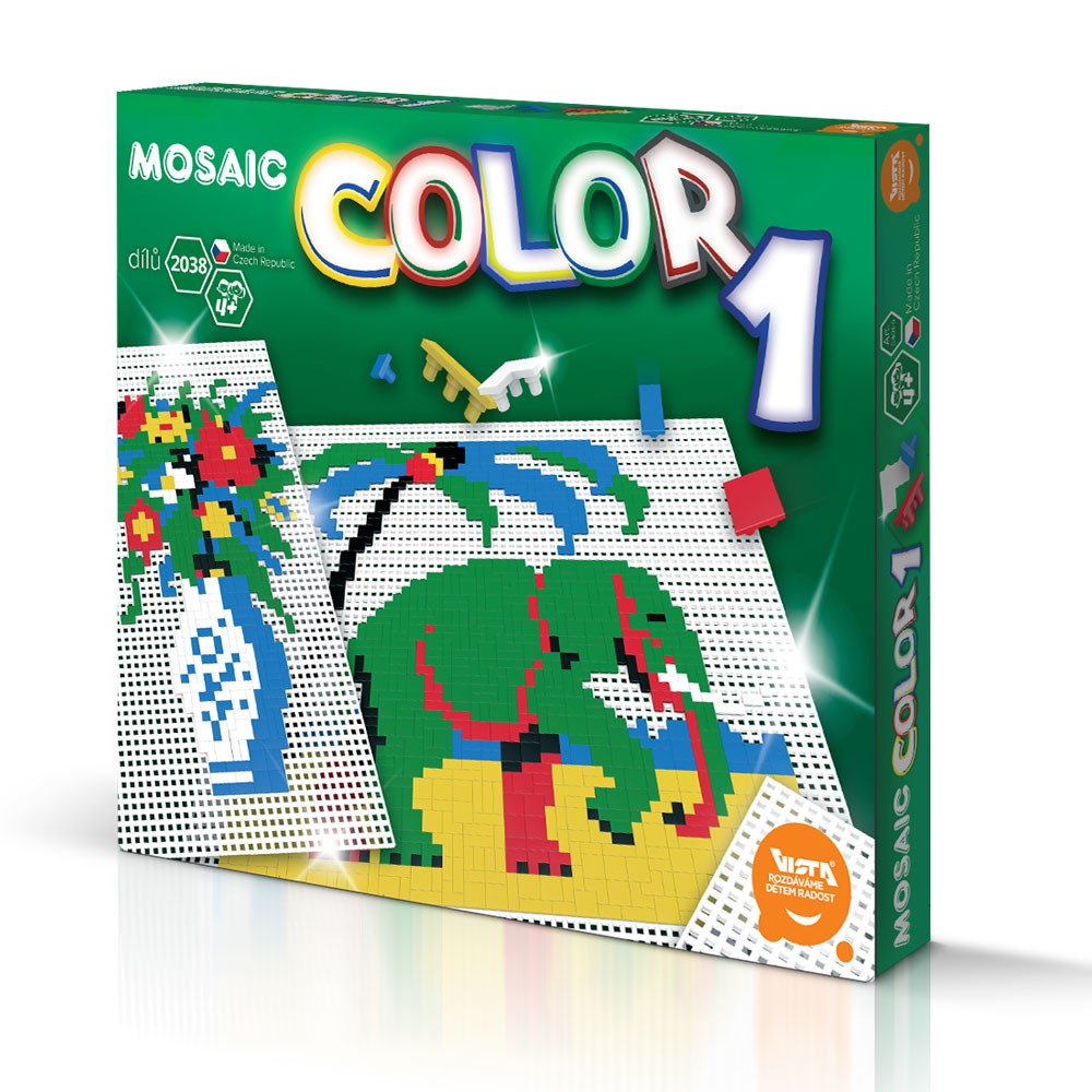 Vista Mosaic Color 1 - 2038 dílků