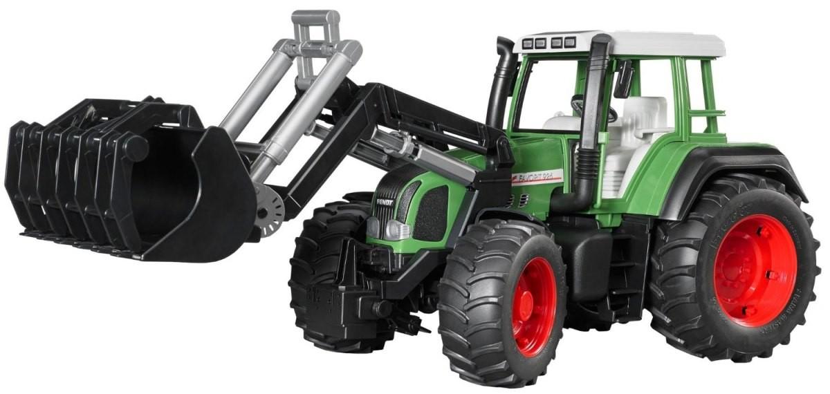 Bruder 2062 Traktor Fendt Favorit 926 Varios s přední lžicí