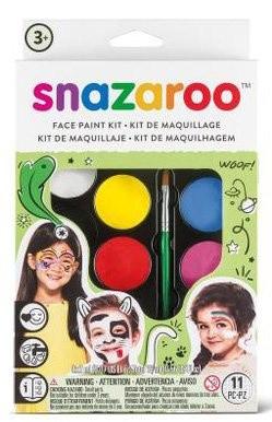 Snazaroo velká sada obličejových barev zelená