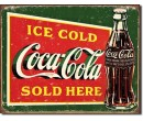Cedule - COCA COLA Ice Cold Green