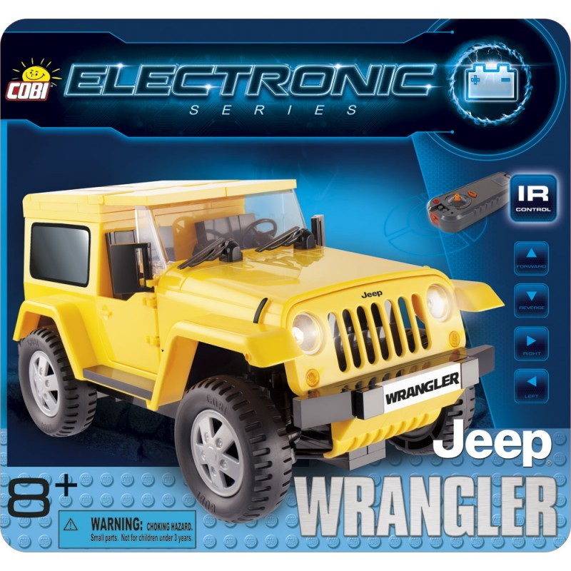 Cobi 21921 Electronic Jeep Wrangler na dálkové ovládání