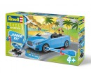 Revell Junior Kit 00801 Convertible, Modré 1 : 20