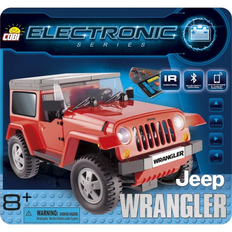 Cobi 21920 Electronic Jeep Wrangler (I/R a Bluetooth)