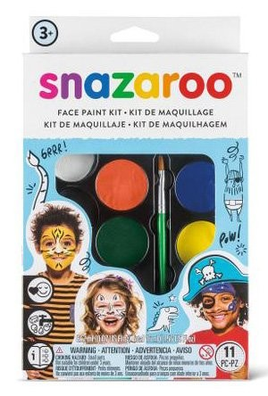 Snazaroo velká sada obličejových barev - modrá