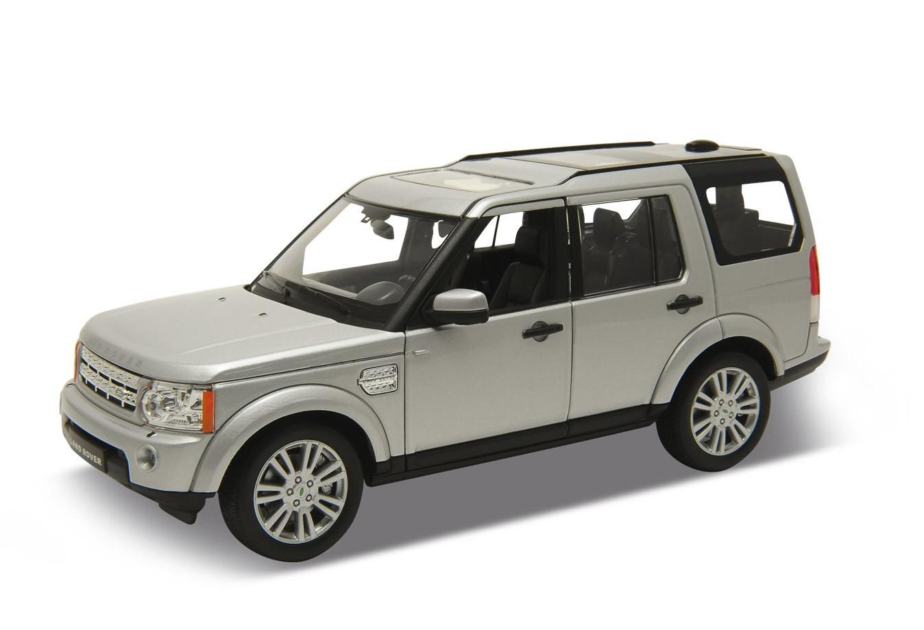 Welly Land Rover Discovery 4 Stříbrný 1:24