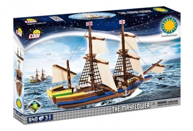 Cobi SMITHSONIAN 21077 Loď Mayflower, 640 kostek